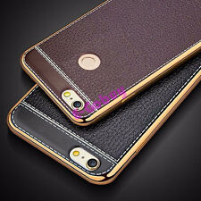 Luxury Slim PU Leather Case Soft TPU Back Cover For Xiaomi Mi Max M5 Redmi Note