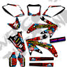 2000 2001 2002 2003 XR 50 GRAPHICS KIT 03 02 01 XR50 NIGHT RIDER : RED / BLUE
