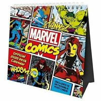 Marvel Comics Original Desk Easel 2020 Calendar Page-a-Month Tent