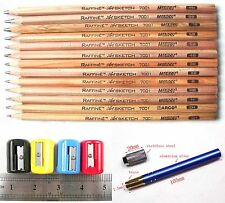 13 Sketch Drawing Pencil 3H 2H H 3B 4B 7B 8B 9B Tool Set Extender Sharpener A001