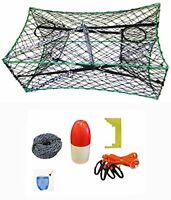 KUFA Galvanized Foldable Crab Trap & Accessories comnbo (S33+CAS1)
