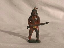 Barclay Native American Lead Toy Figure Manoil North American Indian