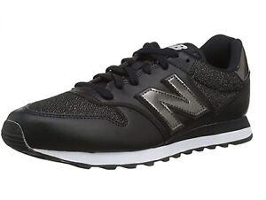 NEW BALANCE 500, Sneakers Donna Black/Metallic, Nero, Casual Woman Sportive