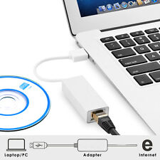USB 2.0 to RJ45 LAN Network Ethernet Adapter for Mac OS Tablet Windows PC Laptop