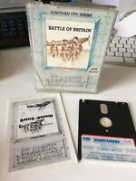 Battle of Britain - by PSS - disc disk game - Amstrad CPC 464 6128 - tested