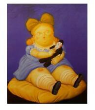 Fernando Botero Die Puppe Poster Kunstdruck Bild 58x49cm