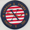 """CARRIER STRIKE GROUP TEN """"X"""" CHEST PATCH"""