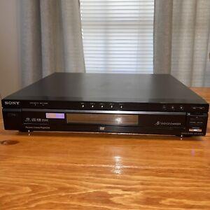 Sony DVP-NC875V 5 Disc DVD CD Carousel Player Changer Black Tested