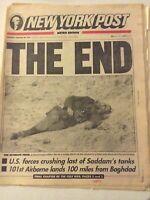 New York Post Magazine US Force Crushing Saddam February 28, 1991 041819nonrh