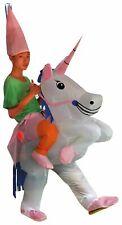 Carry-me Kostüm - Einhorn Aufblaskostüm Unicorn für Erwachsene 165 - 185cm