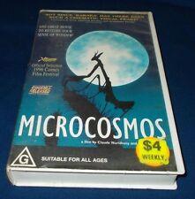 MICROCOSMOS VHS PAL CLAUDE NURIDSANY