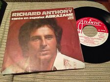 "RICHARD ANTHONY - SUNG IN SPANISH 7"" SINGLE SPAIN - ABRAZAME"