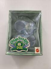 NEW Vintage Cabbage Patch Kids Blue Lace Up Tennis Shoes
