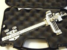 """4"""" DAVIS TARGET SIGHT- Double knob mount -Silver with Silver knobs...."""