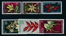 Comoro Islands 80-82, C26-C28 Mint NH Flowers