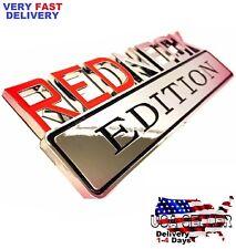 REDNECK EDITION car MAYBACH EMBLEM Tesla Door Logo ASTON MARTIN DECAL Lotus Sign