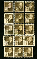 US Stamps # 893 F-VF Used Lot of 15