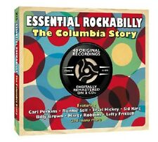 Essential Rockabilly Columbia Story 2-CD NEW SEALED Carl Perkins/Ronnie Self+