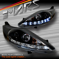 DAY-Time LED DRL Projector Head Lights for Ford Fiesta 09-12 Headlight WS WT