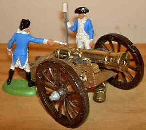 1:32 Britain's #9737 Gun of the Revolution - 2 figures + metal & plastic cannon