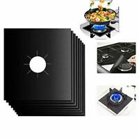 Gas Range Covers LEADSTAR Gas Hob Protectors,Stove Burner Liners,,0.2mm Double