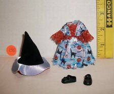MATTEL Barbie KELLY DOLL WITCH HALLOWEEN COSTUME CLOTHES NEW FROM BOX B5