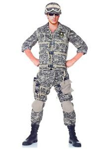 Teen Deluxe U.S. Army Ranger Camouflage Costume SIZE 14-16 (with defect)