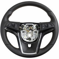 94516458 Steering Wheel Black Leather w/Mojave Stitch 2014-16 Chevy Sonic