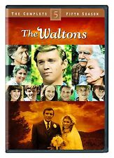 THE WALTONS : COMPLETE SEASON 5 (English cover) -  DVD - UK Compatible