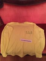 Size XL TLOP Kanye West Yeezy Meadows Festival Merch T-Shirt LIME GREEN NEW YORK