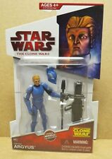 STAR WARS CLONE WARS CAPTAIN ARGYUS ACTION FIGURE SEALED #CW31