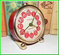 Soviet Vintage Slava Alarm Clock USSR 1980's~Perfect Condition #121216