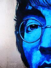 John LENNON-grande dipinto ad olio originale in luogo fresco Blues