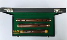 "26"" IRISH PROFESSIONAL 3 PARTS D FLUTE SHEESHAM WOOD WITH HARD CASE BOX"