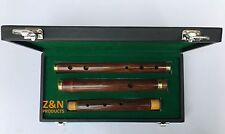 """26"""" IRISH PROFESSIONAL 3 PARTS D FLUTE SHEESHAM WOOD WITH HARD CASE BOX"""