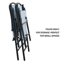 SLN Outdoor Folding Lawn Chairs with Steel Frame,Portable for Lawn/Garden/Pat...