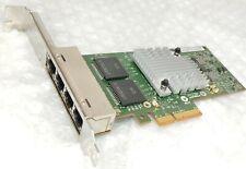 More details for hp 593743-001 593720-001 nc365t 4-port gigabit nic network card