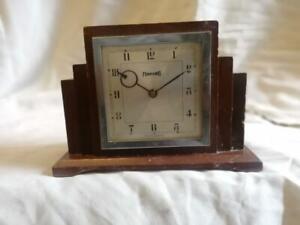 ORIGINAL FERRANTI ART DECO MANTLE CLOCK c1930