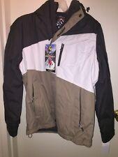 """ZeroXposur Men's """"ANVIL""""Colorblock 3-in-1 Systems Hood Jacket SLATE L NWT Winter"""