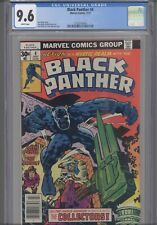 Black Panther #4 CGC 9.6 1977 Marvel  Jack Kirby Story, Art & Cover: New Frame