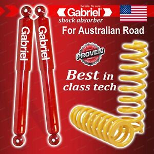 Front Gabriel Guardian Shocks + Lowered King Coil Springs for Holden H Series HZ