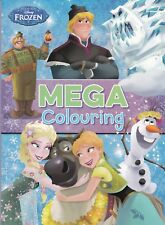 Disney Frozen Mega Colouring Book, New, Paperback