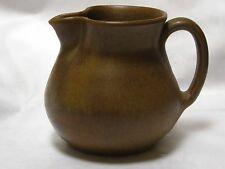 "Vintage W.J. GORDY Georgia Hand Made Pottery Creamer 3-7/8""H Signed"