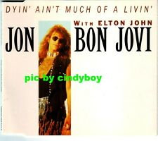 Jon Bon Jovi Dyin' ain't much of a livin' Summertime No promo CD France French