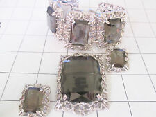 "Sarah Coventry Brooch & Earring bracelet  Set ""Celebrity Collection"" ..23"