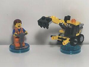 Lego Dimensions The Lego Movie Fun Pack Emmet & Emmet's Excavator 71212