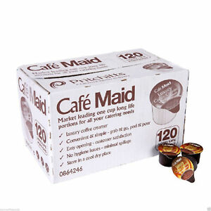 Cafe Maid Luxury Coffee Creamer Long Life Individual Portions 12Ml