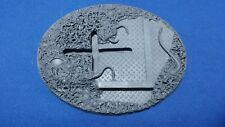 Warhammer 40k Elrik's Hobbies Terrain Corrupted Outpost Oval 120x92mm cross base
