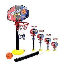Enfants Réglable sur Pied Basketball Netball Cerceau Jouet Inside Outside