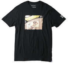 O'Neill OLD SCHOOL Mens T-Shirt Black Medium NEW